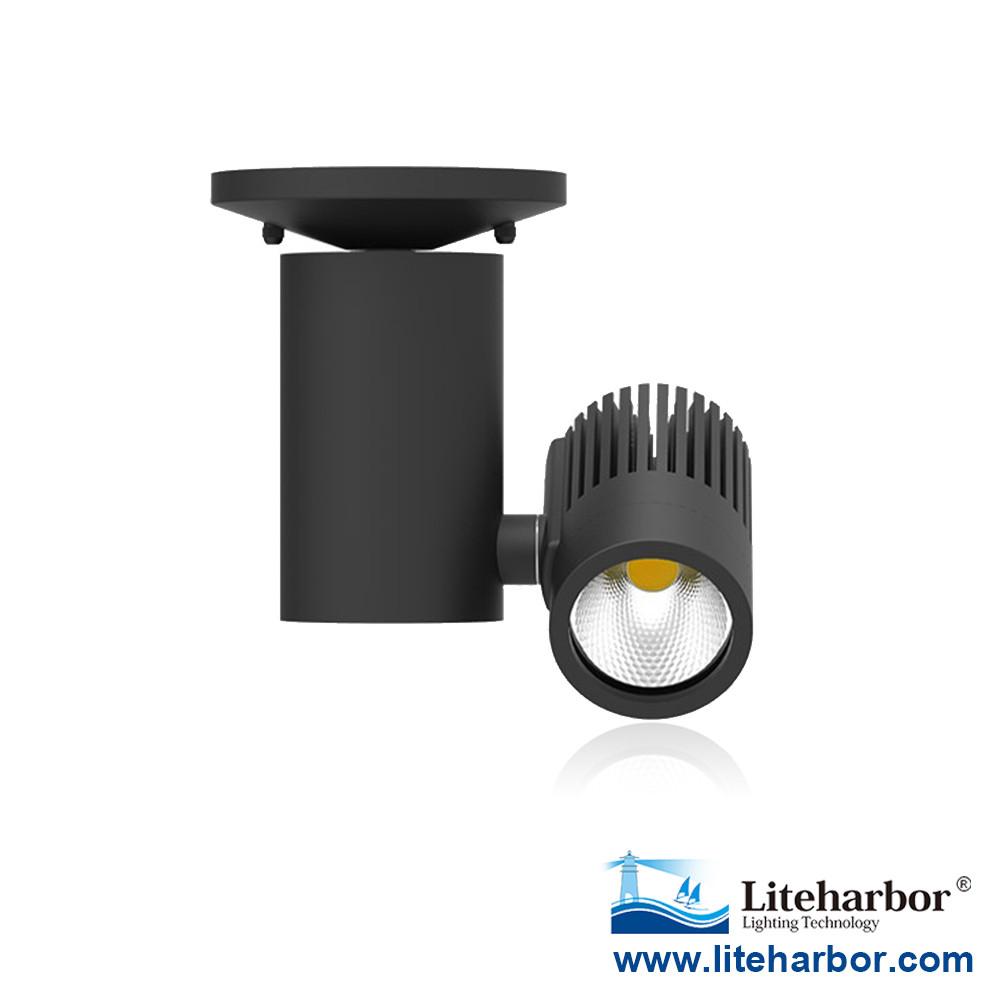 LED Track Light 2550 Lumen Flush Mounted COB LED track lighting