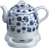 1.0L high grade ceramic electric kettle with CE,CB