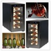 10 bottles Glass Door Thermoelectric Red Wine Cellar