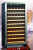 100 bottles compressor refrigerator WITH stainless steel handle