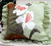 100% polyester fashion cushion cover