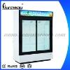 1200L Two Door Luxury Refrigerated Supermarket Showcase LC-1200