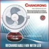 12inch table fan rechargeable