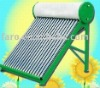 150L Compact Non-Pressured evacuated tube solar water heater