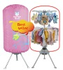 15kg big capacity aluminum electical baby dyerclothes dryer with CE/CB/RoHS certificate