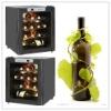 16 bottles Glass Door Thermoelectric Grape Wine Cellar