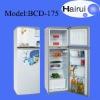 175L Top freezer home double door refrigerator