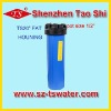 "20"" Fat blue filter housing/bottle with 1/2""pore"