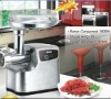 2000Watt Digital Control Multi-Funcion MEAT GRINDER with Stainless-Steel Cover