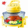 220V  transparent elegant halogen oven with LFGB Rohs