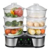 22L Big Capacity Electric food steamer