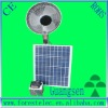 22W  16'' Solar fan with controller