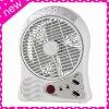 24 LEDS FM Radio Rechargeable Commercial Fan