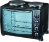 25L Electric Oven with Two Hot Plate