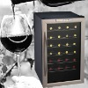 28 Bottles Thermoelectric Wine Cellar With Stainless Steel