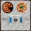 281 electric stainless steel conveyor pizza oven