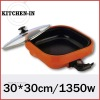 30cm electric grill