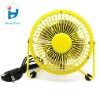 4 inch Mini USB Metal desk Fan
