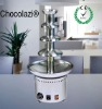 4 tiers high grade commercial stainless steel electric chocolate fountain maker
