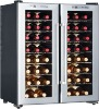 48 bottles Single Temperature Thermoelectric Black Frame Wine Cellar