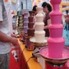 5 tiers 80cm commercial electric chocolate fountain