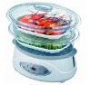 6.5L 1200W 2 Plastic Layers Food Steamer with CE/CB