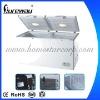 608L Double Door Chest freezer Special for Greece Market