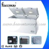 608L Double Door Chest freezer Special for Nigeria Market