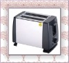 750W 2 Slice stainless steel multifunction toaster