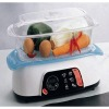 850W 1 Layer Plastic Food Steamer with GS/ROHS/CE