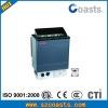 Adjustable temperature sauna heater