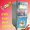 Air-cooled hard ice cream machine