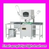 Automatic commercial dish washing machine
