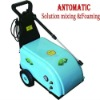 Automatic foaming high pressure cold water washer