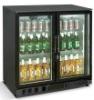 Bar refrigerator(Double glass doors)