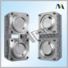 Bi-injection moulds