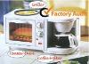 Breakfast Machine(3 in 1 multifunctional bread toaster oven.coffee maker.frying pan )