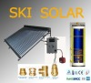 CE Approved solar split system with single copper coil