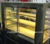 Cake showcase glass door with stainless steel frame