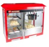 Commercial Kettle Popcorn Machine With Warming Showcase