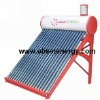 Compact Vacuum Tube Non Pressure Solar Water Heater System