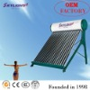 Compact non-pressurized water heater solar product (CE ISO SGS Approved)