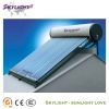 Compact vacuum tube solar water heater, CE,ISO9001-2008,SGS,BV Approved