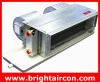 Concealed fan coil for duct installation (water chilled fan coil units)