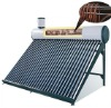 Copper Coil Pre-Heating Solar Hot Water Heater