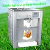 Desktop soft ice cream making machine with stainless steel  shell