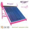 Direct Thermal(Passive)Domestic Solar Water Heater Compact Non-pressurized System with Evacuated tube