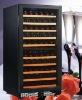 Dual Zone 100 Bottles Built In Refrigerator For Wine