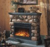 Electric Fireplace With Mantels