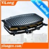Electric Raclette Grill /table grill /mini contact grill for 8 persons